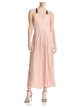 Frances Shirred Maxi Dress   100 Percents Exclusive by Reiss