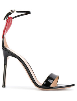 Love Cut Out Heart Sandals by Gianvito Rossi