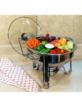 Wade Logan 6 Piece 4 Qt. Stainless Steel Chafing Dish Set & Reviews by Wade Logan