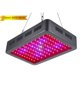 Lightimetunnel Led Grow Light, 300 W Full Spectrum Plant Grow Lights With Uv&Ir For Indoor Plants Growing And Flowering by Lightimetunnel