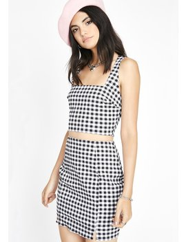 Do It Well Gingham Set by Lux La