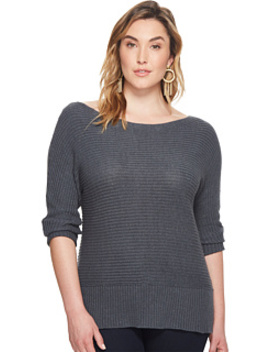 Plus Size Off Shoulder Sweater by Lucky Brand