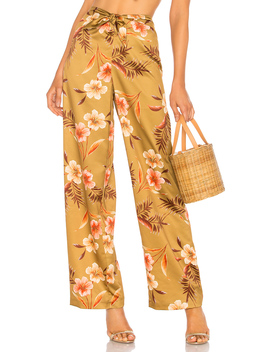 Tie Front Pant by Lpa