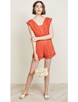 Sleeveless Romper by Kos Resort