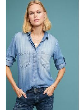Cloth & Stone Split Back Chambray Buttondown by Cloth & Stone
