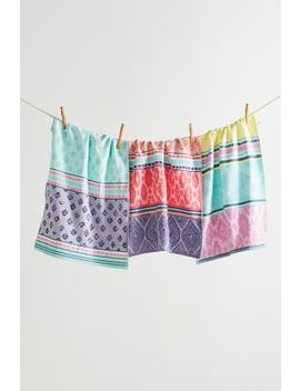 Bodrum Dish Towels, Set Of 3 by Anthropologie
