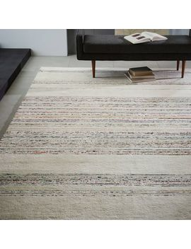 Roar + Rabbit™ Horizon Stripe Rug   Ivory by West Elm