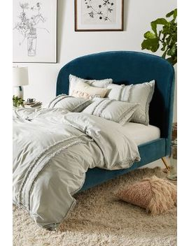 Fringed Mirabella Duvet Cover by Anthropologie