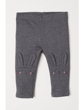 Leggings With Motif by H&M
