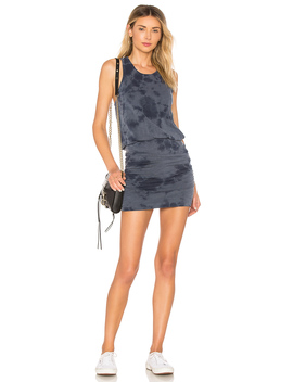 Tie Dye Ruched Dress by Sundry