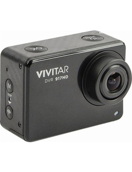 4 K Action Camera With Remote   Black by Vivitar