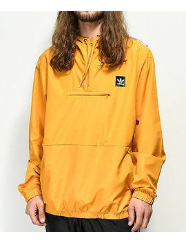 Adidas Hip Yellow Anorak Jacket by Adidas