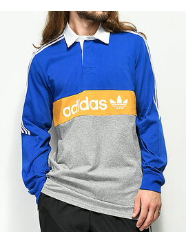 Adidas Heritage Colorblocked Polo by Adidas