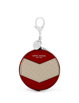 Empire Round Coin Purse by Henri Bendel