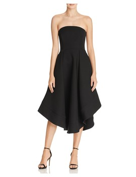 Strapless Making Waves Dress   100 Percents Exclusive by C/Meo Collective