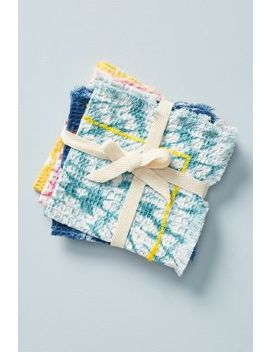 Rosario Dishcloths, Set Of 4 by Anthropologie