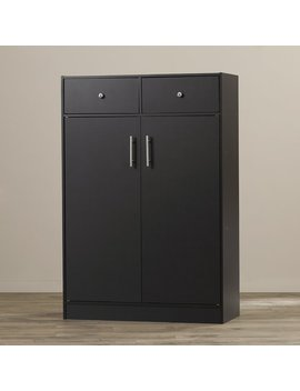 Andover Mills Cormiers 20 Pair Shoe Storage Cabinet & Reviews by Andover Mills