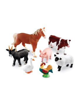Learning Resources Jumbo Farm Animals Set, 7 Pieces by Learning Resources