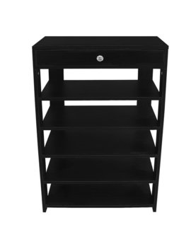 Rebrilliant 5 Tiers Organizing Entryway 20 Pair Shoe Rack & Reviews by Rebrilliant