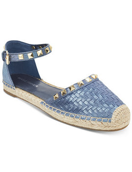 Graze Two Piece Studded Espadrilles by Marc Fisher