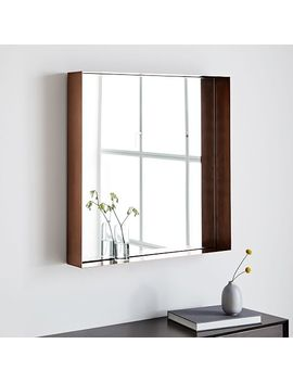 Industrial Shadowbox Wall Mirror by West Elm