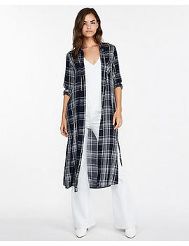 Plaid Duster by Express