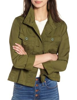 Crop Anorak Jacket by Madewell