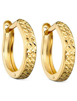 10k Gold Hoop Earrings by Macy's
