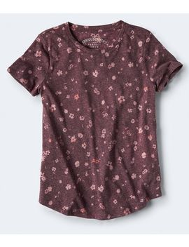Seriously Soft Floral Crew Tee by Aeropostale