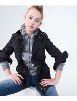 Lightweight Twill Parka by Aeropostale