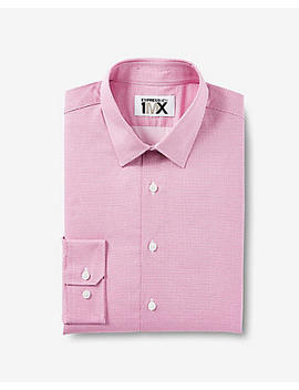 Extra Slim Easy Care Micro Dot 1 Mx Dress Shirt by Express