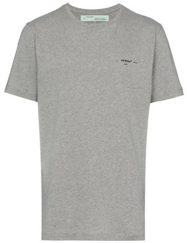 Off Whitearrows Slim Fit T Shirthome Men Clothing T Shirts by Off White