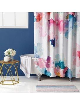 Bluebellgray Sanna 100 Percents Cotton Shower Curtain & Reviews by Bluebellgray