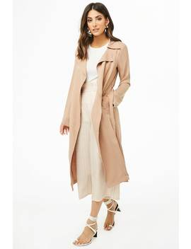 Draped Wrap Coat by Forever 21