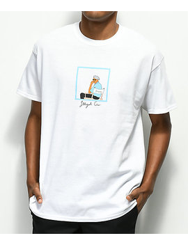 Illegal Civilization Director's Chair White T Shirt by Illegal Civilization
