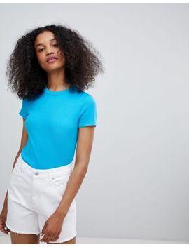 Monki Slim Fit T Shirt by Monki