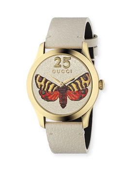 38mm G Timeless Butterfly Watch by Gucci