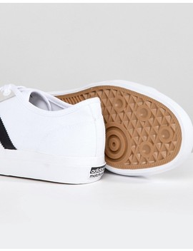 Adidas Skateboarding Matchcourt Rx Sneakers In White Cq1129 by Adidas