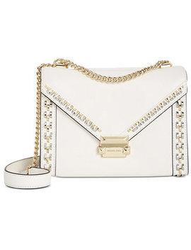 Whitney Studded Frame Shoulder Bag by Michael Michael Kors