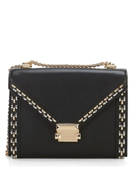 Whitney Large Stud Shoulder Bag by Generic