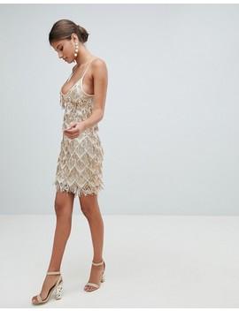 Girl In Mind Sequin Tassel Mini Dress by Evening Dress