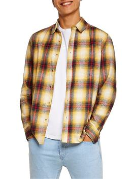 Check Flannel Shirt by Topman