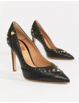 Love Moschino Studded Heeled Shoes by Love Moschino