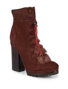 Dasha Leather Boots by Chloé