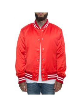 The After Party Jacket In Red by Karmaloop