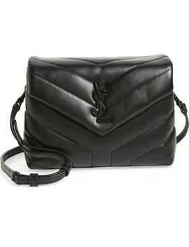 Toy Lou Lou Leather Crossbody Bag by Saint Laurent