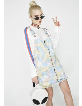 Rainbow Cookie Pinafore Dress by Glamorous