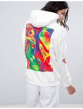 Dream But Do Not Sleep Logo Hoodie With Back Print by Dream But Do Not Sleep