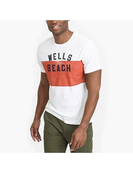 J.Crew Mercantile Broken In Wells Beach T Shirt by J.Crew