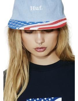 Denim 4th Of July Hat by Huf
